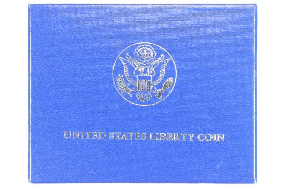 1986-D STATUE OF LIBERTY UNC HALF DOLLAR - 3