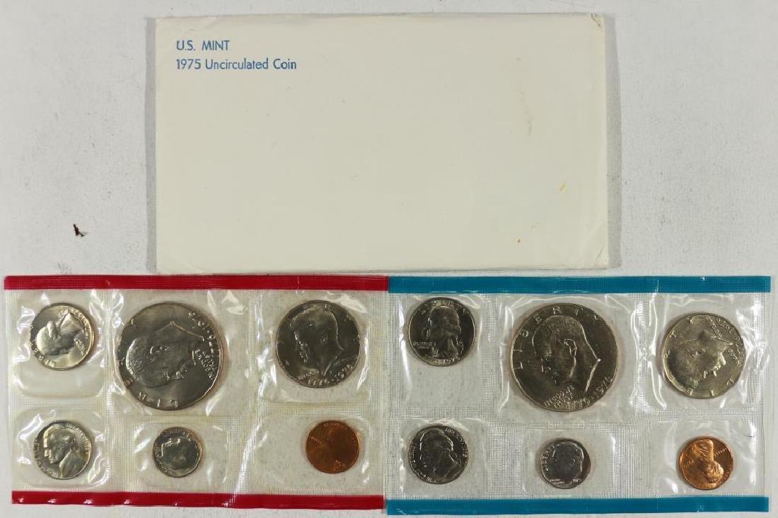 1975 US MINT SET (UNC) P/D (WITH ENVELOPE)