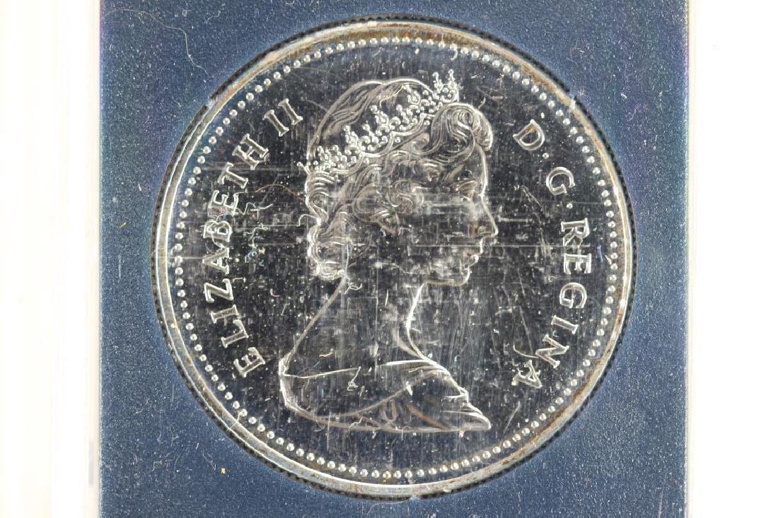 1982 CANADA REGINA SILVER DOLLAR (PF LIKE) - 2