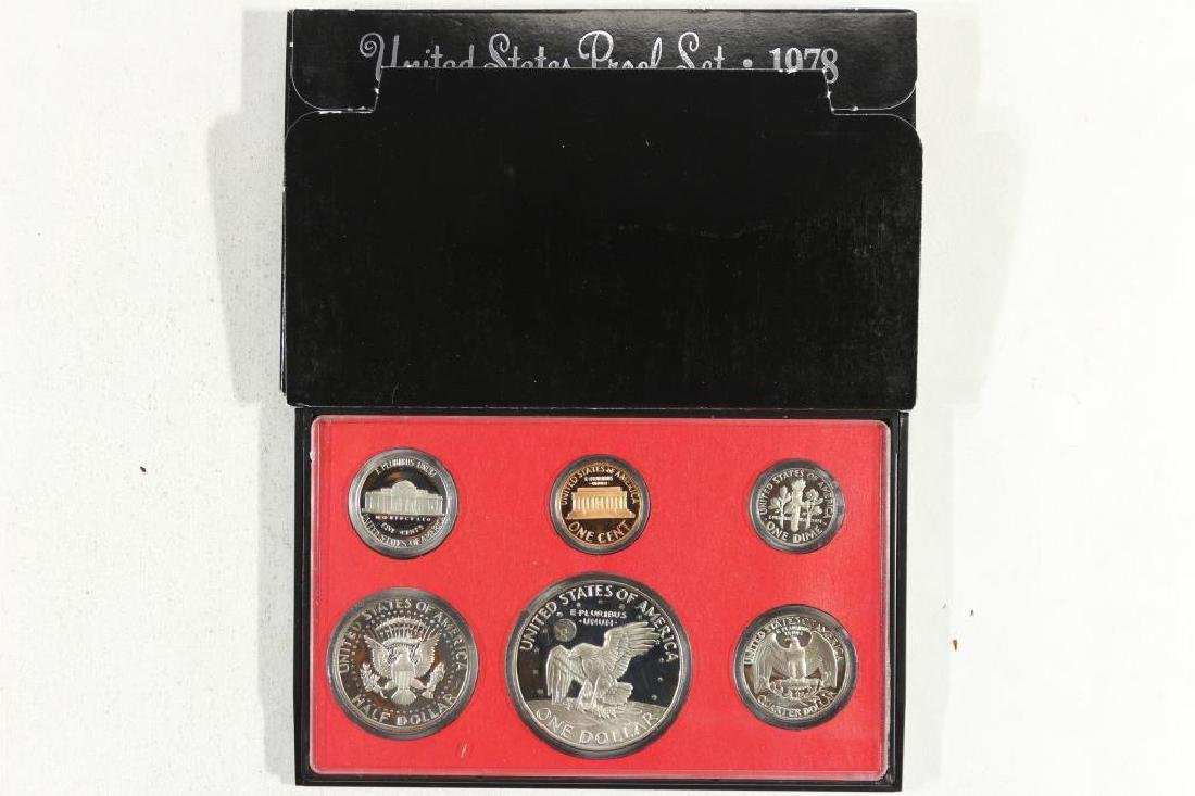 1978 US PROOF SET (WITH BOX) - 2