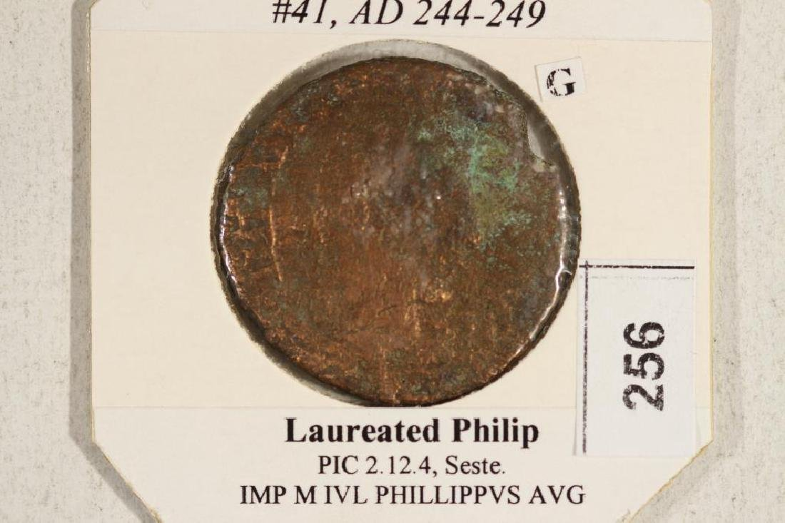 244-249 A.D. PHILIP I ANCIENT COIN - 3