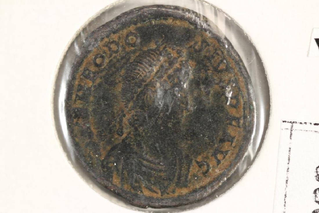 379-395 A.D. THEODOSIUS ANCIENT COIN VERY FINE