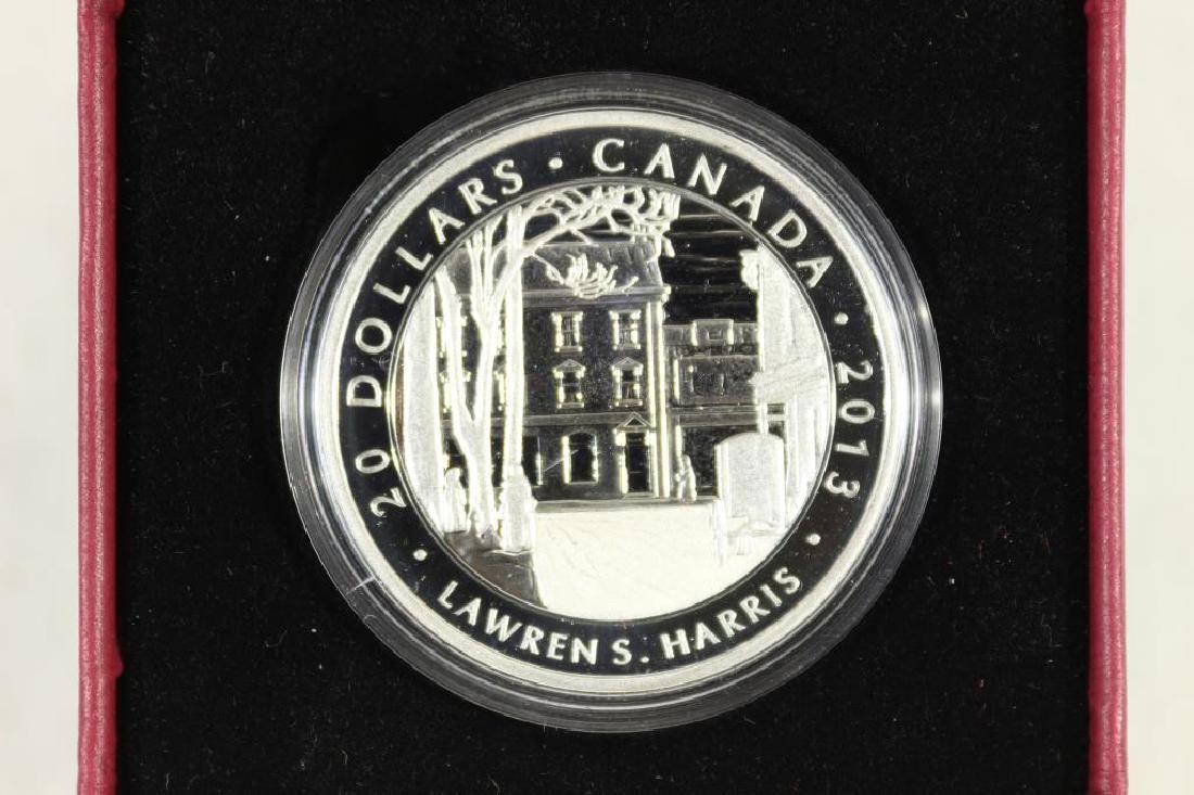 2013 CANADA $20 FINE SILVER COIN PROOF