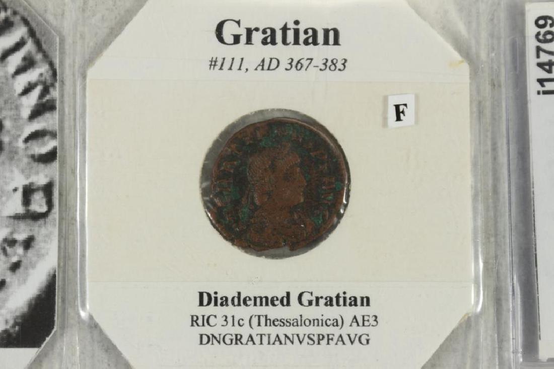 367-383 A.D. GRATIAN ANCIENT COIN (FINE) - 2