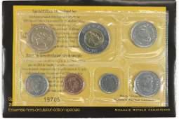 2005 CANADA SPECIAL EDITION UNC SET