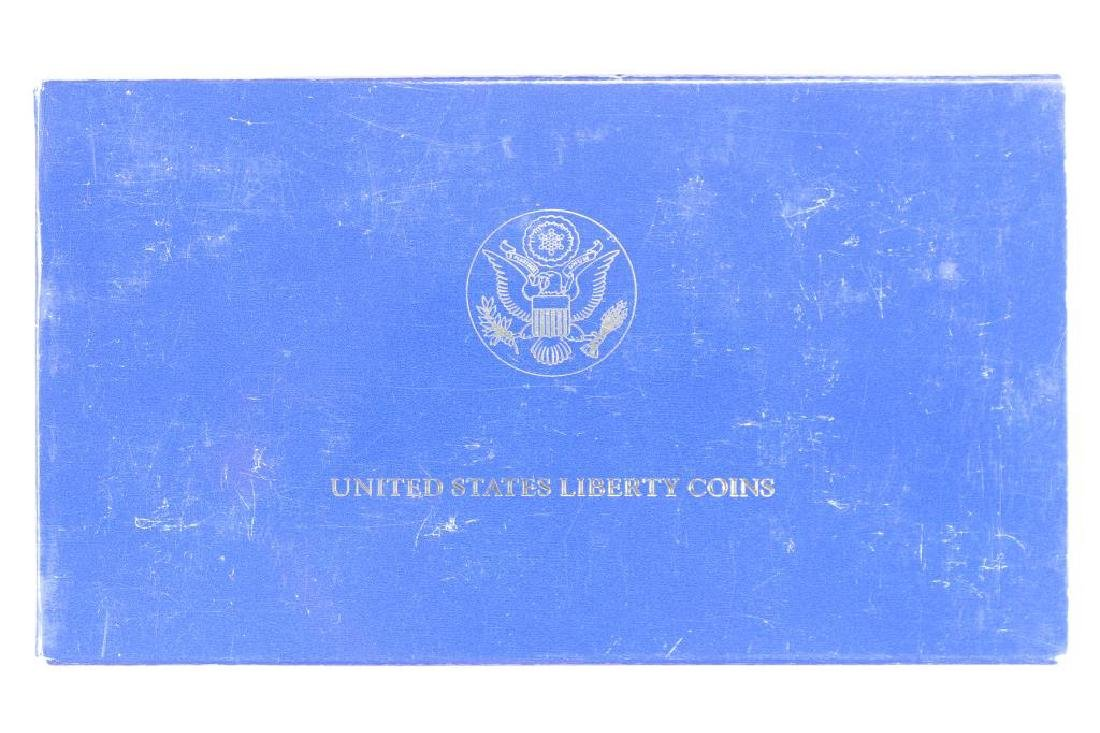 1986 STATUE OF LIBERTY 2 COIN PROOF SET - 3
