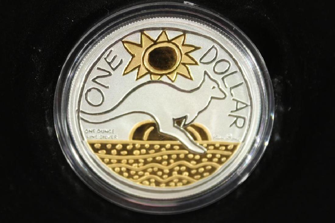 2009 AUSTRALIA SILVER DOLLAR 1 TROY OZ.