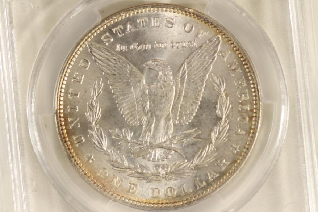1888 MORGAN SILVER DOLLAR PCGS MS63 - 2
