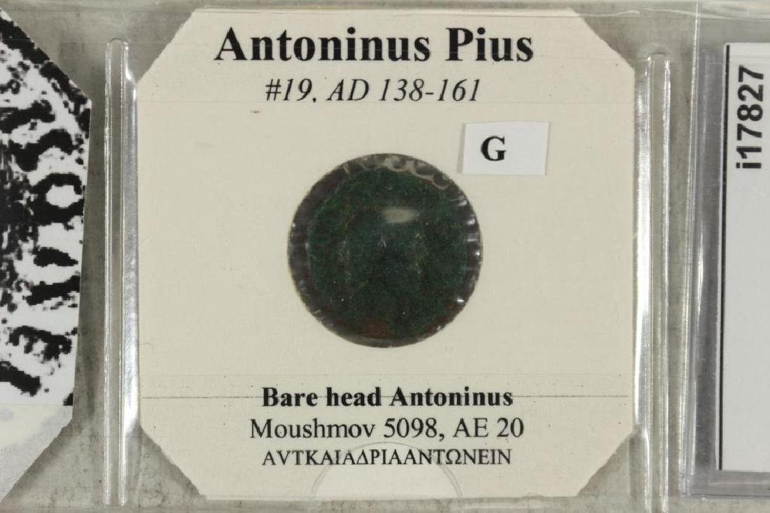 138-161 A.D. ANTONINUS PIUS ANCIENT COIN - 2