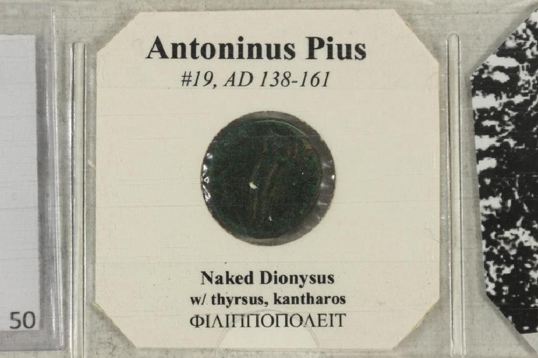 138-161 A.D. ANTONINUS PIUS ANCIENT COIN - 3