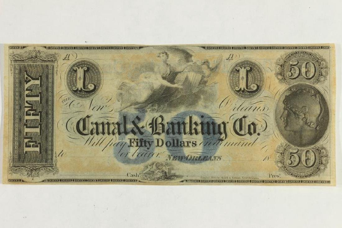 CANAL & BANKING COMPANY OF NEW ORLEANS $50