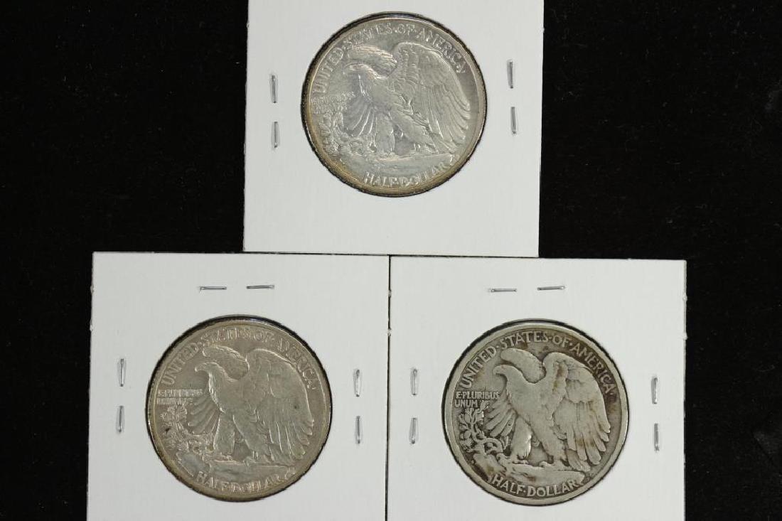1941-P/D/S WALKING LIBERTY HALF DOLLARS - 2