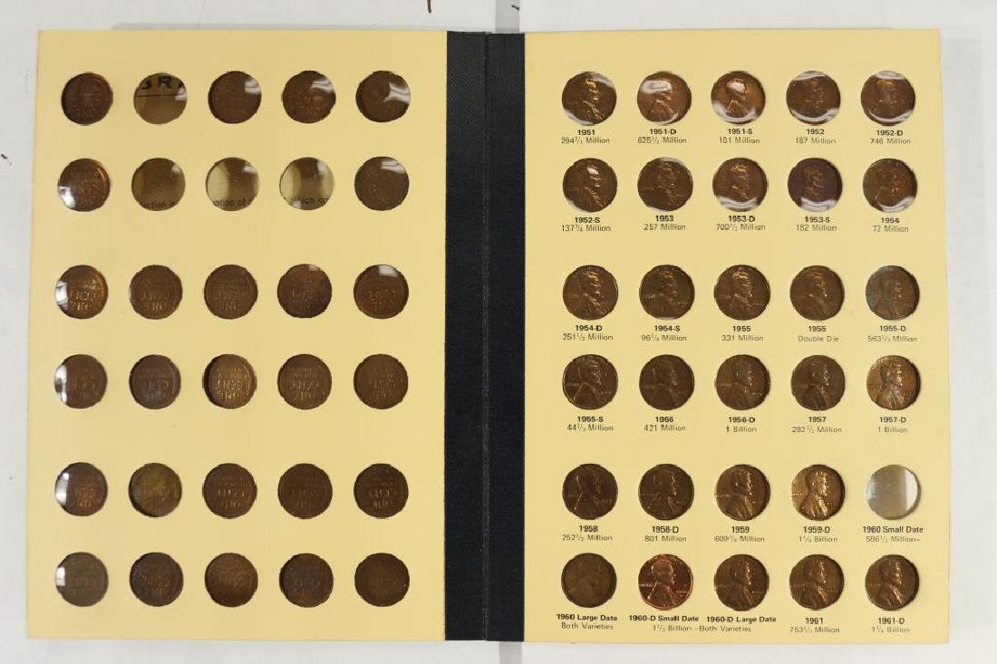 VINTAGE LIBRARY OF COINS 1941-UP LINCOLN CENT SET - 3