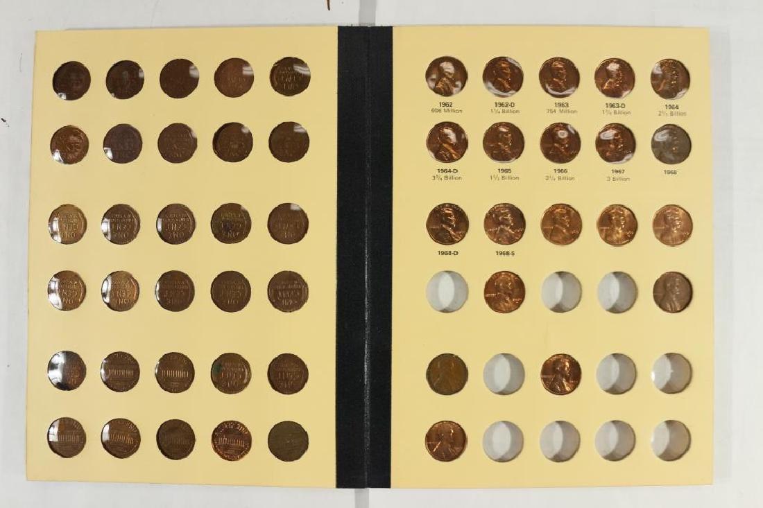 VINTAGE LIBRARY OF COINS 1941-UP LINCOLN CENT SET - 4