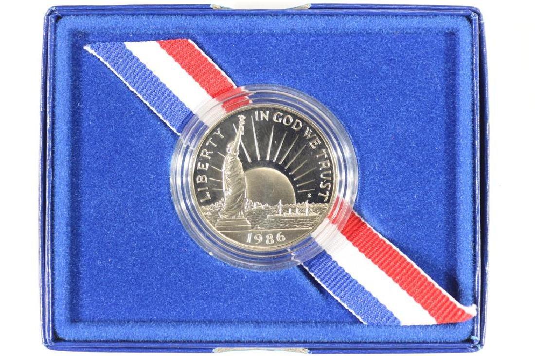 1986-S STATUE OF LIBERTY HALF DOLLAR PROOF