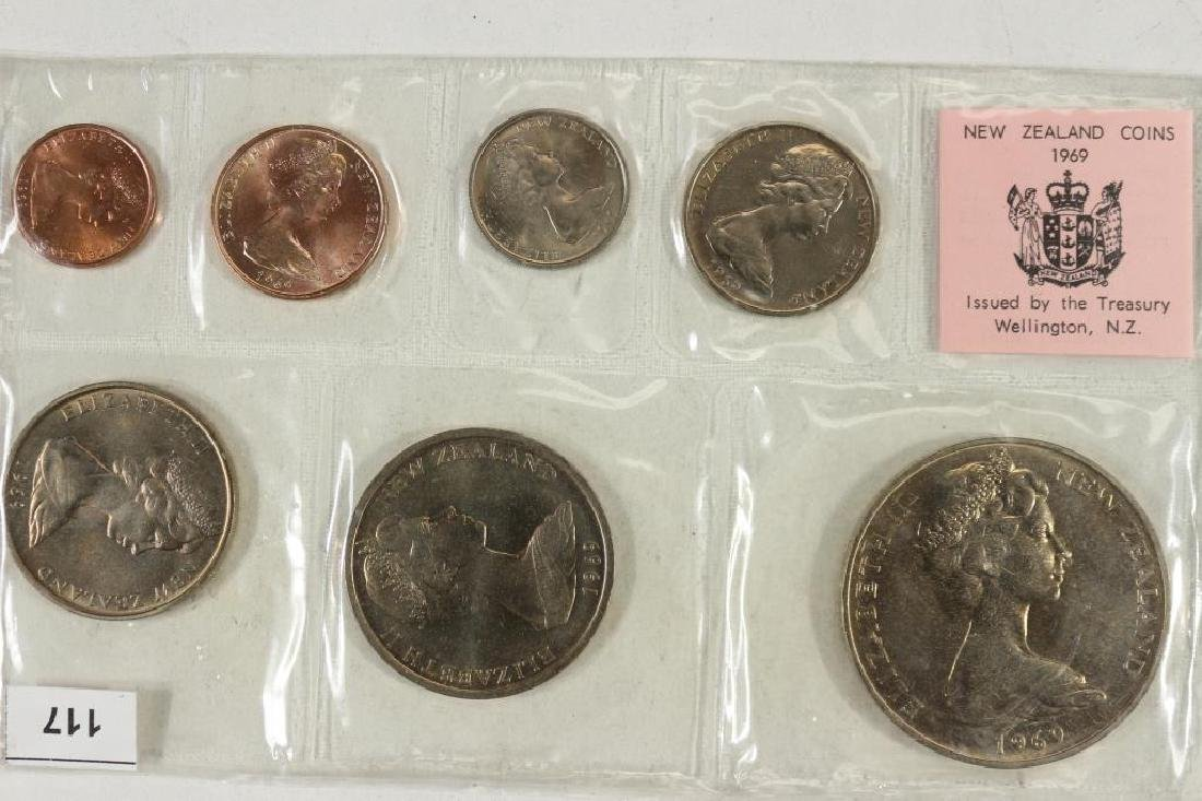 1969 NEW ZEALAND UNC SPECIAL COIN SET