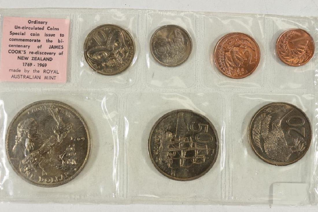 1969 NEW ZEALAND UNC SPECIAL COIN SET - 2
