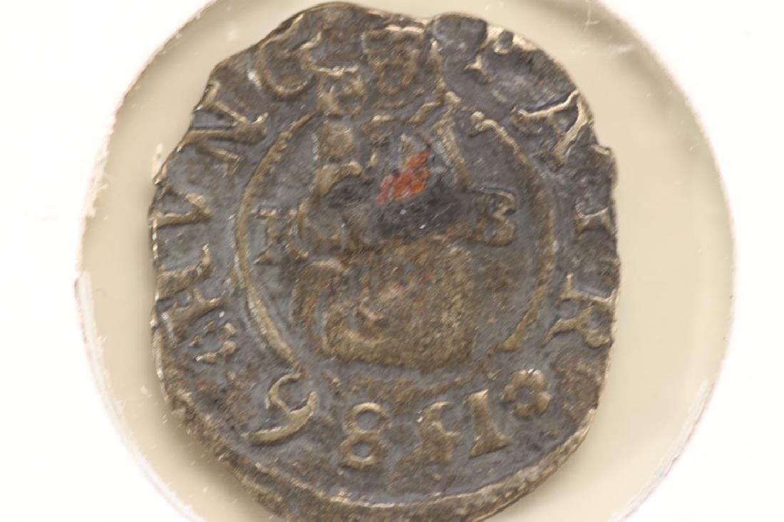 CIRCA 1586 HUNGARY SILVER DENAR FERDINAND I ERA