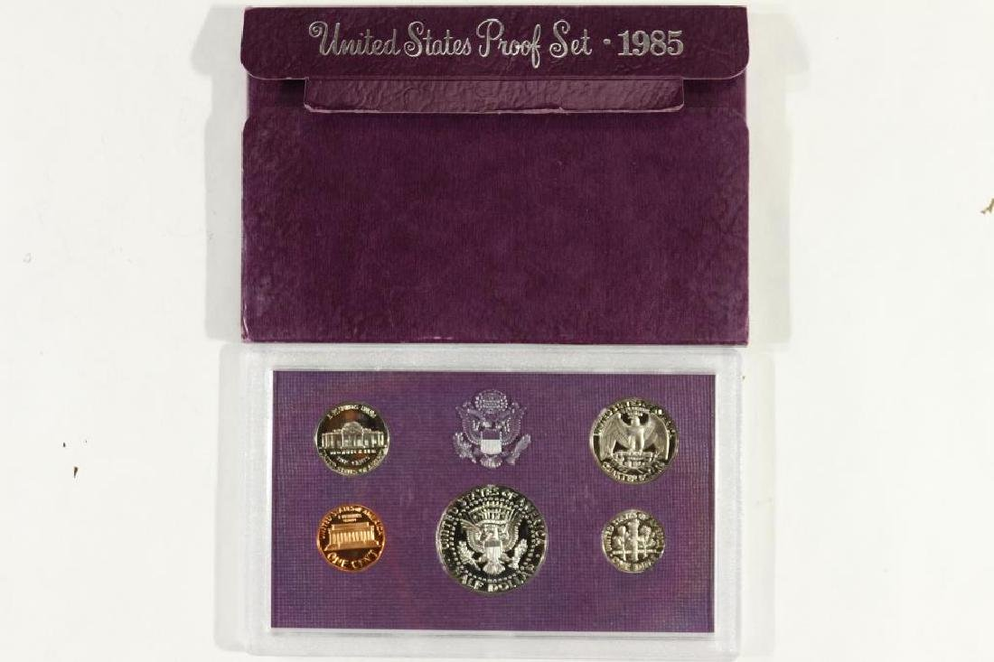 1985 US PROOF SET (WITH BOX) - 2