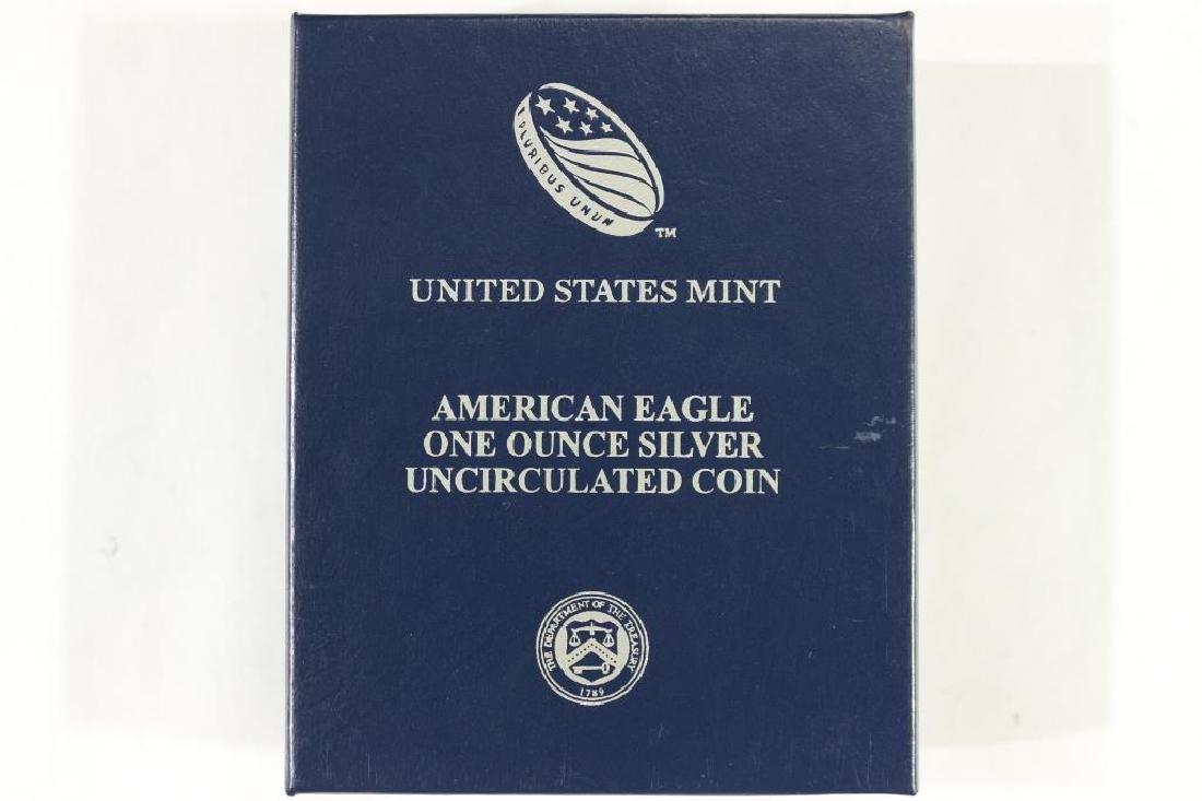 2014-W AMERICAN SILVER EAGLE UNC - 3