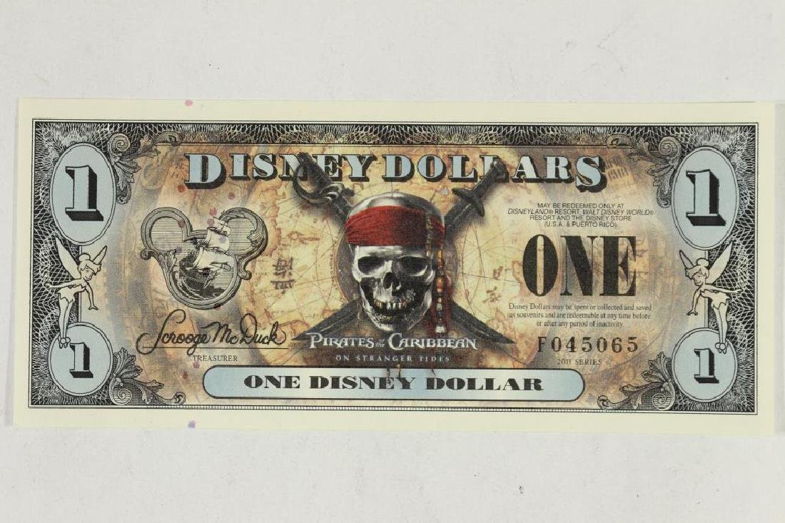 2011 SERIES DISNEY DOLLAR PIRATES OF THE CARIBBEAN