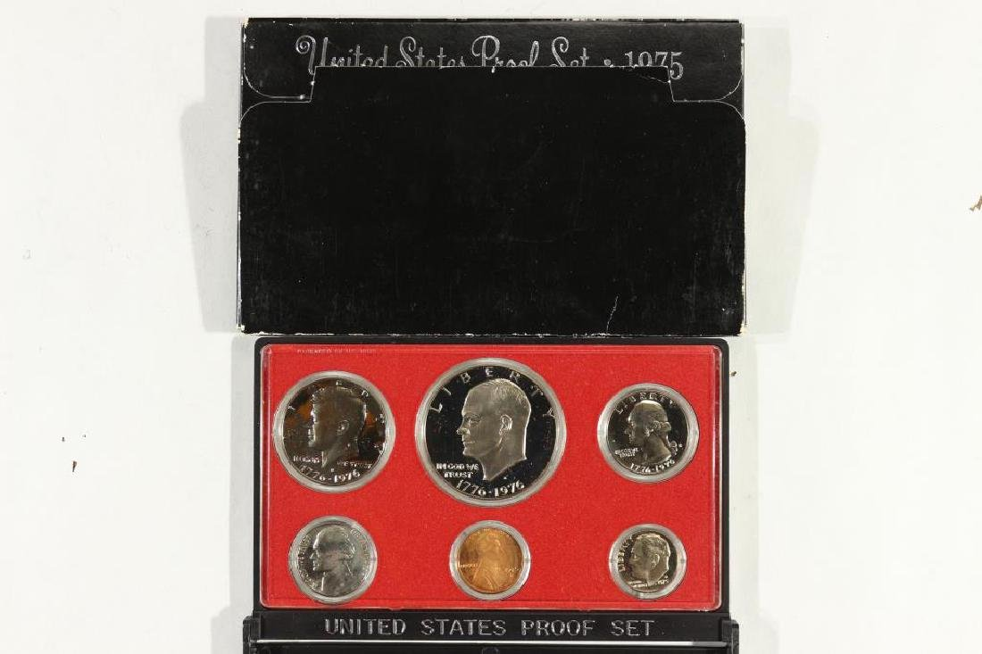 1975 US PROOF SET (WITH BOX)