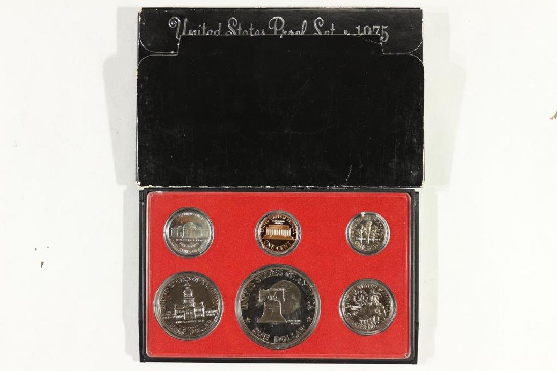 1975 US PROOF SET (WITH BOX) - 2