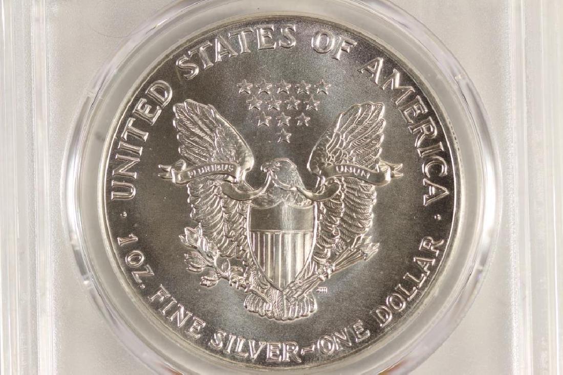 1987 AMERICAN SILVER EAGLE PCGS MS69 - 2
