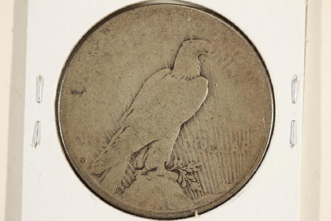 1924-S PEACE SILVER DOLLAR - 2