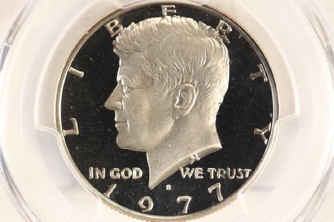 1977-S KENNEDY HALF DOLLAR PCGS PR69 DCAM