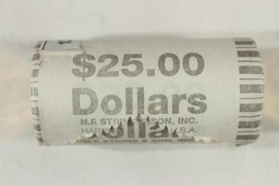 $25 ROLL OF 2010 GREAT LAW OF PEACE SACAGAWEA $'S