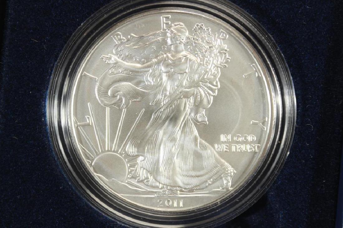 2011-W AMERICAN SILVER EAGLE UNC