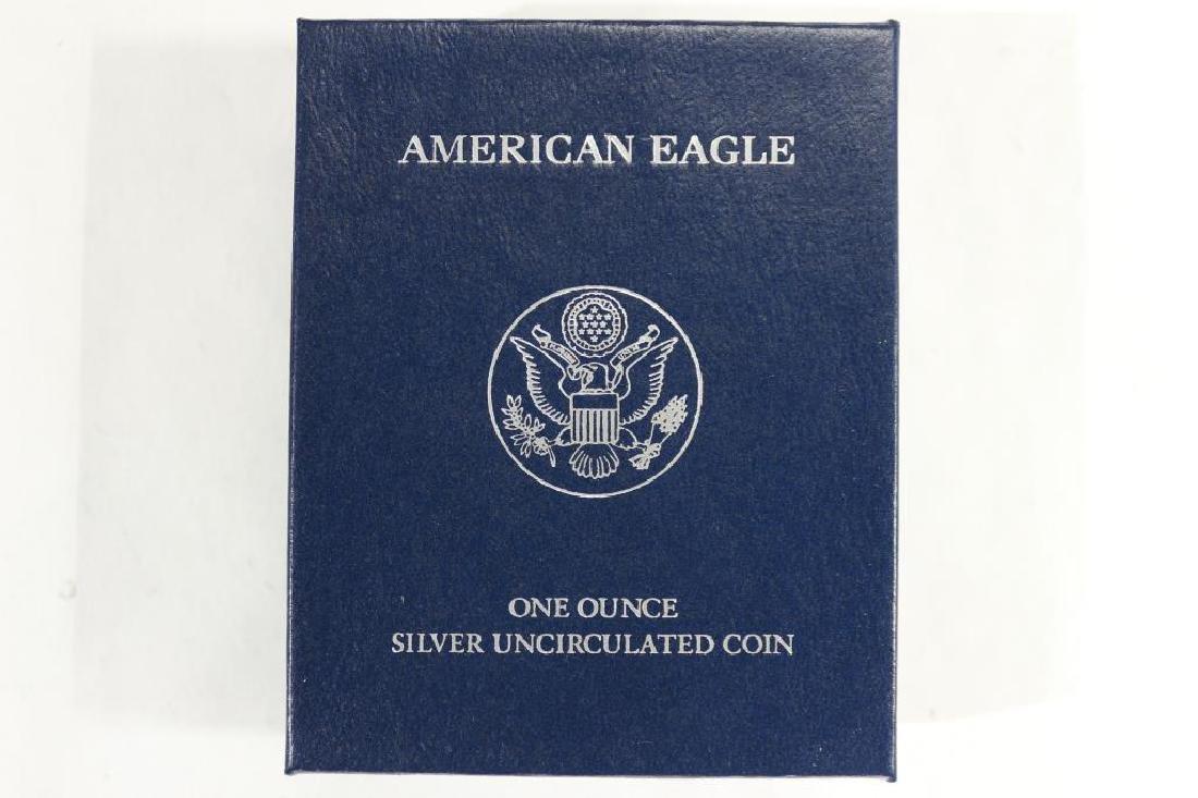 2011-W AMERICAN SILVER EAGLE UNC - 3