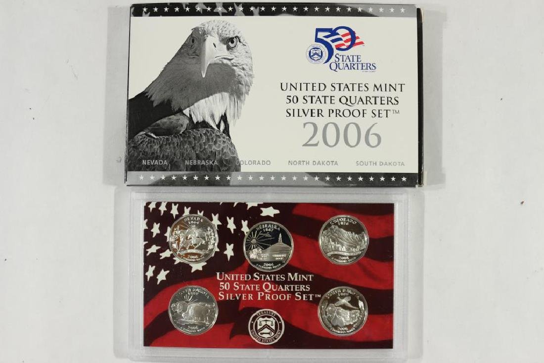 2006 SILVER US 50 STATE QUARTERS PROOF SET