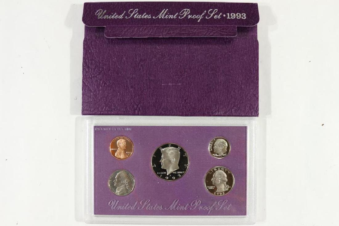 1993 US PROOF SET (WITH BOX)