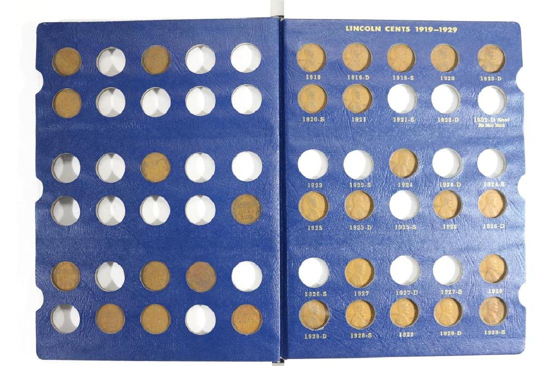 1909-1940 LINCOLN CENT ALBUM 52 COINS - 2