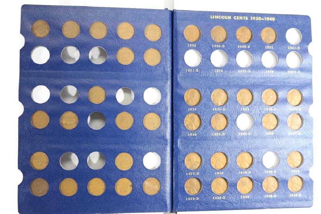 1909-1940 LINCOLN CENT ALBUM 52 COINS - 3
