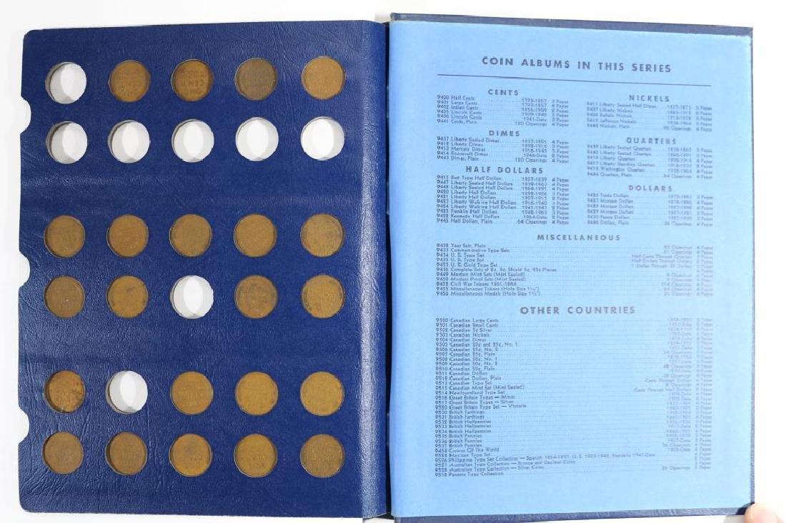 1909-1940 LINCOLN CENT ALBUM 52 COINS - 4