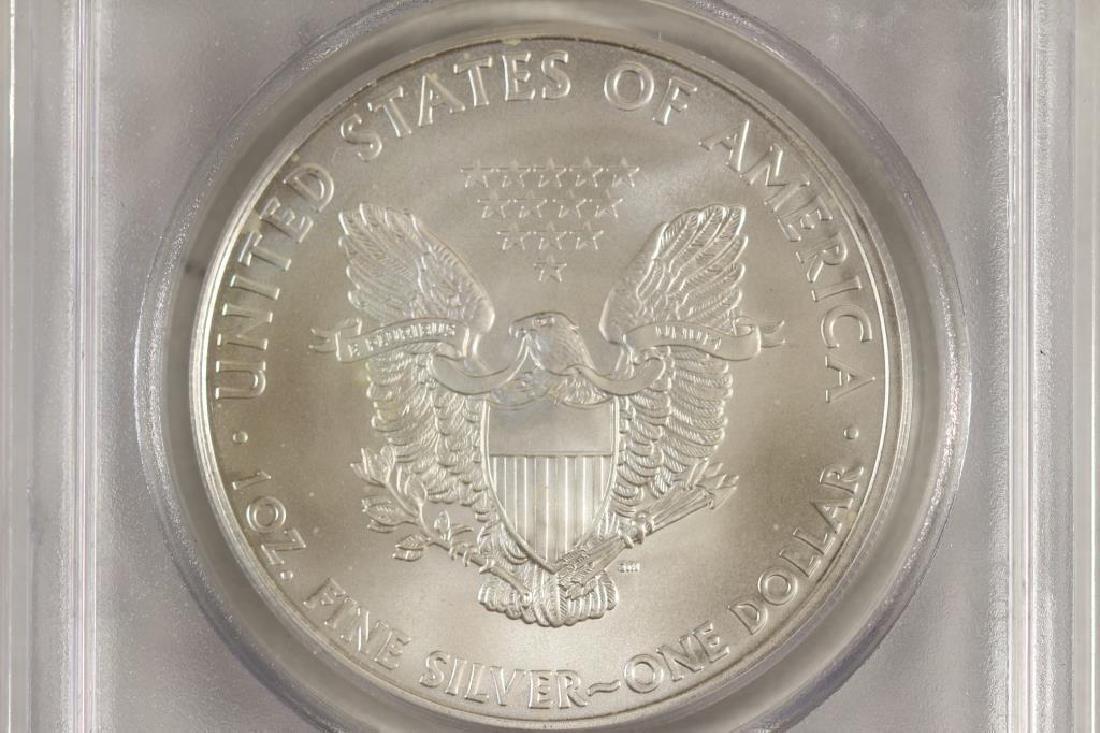 2010 AMERICAN SILVER EAGLE PCGS MS69 - 2