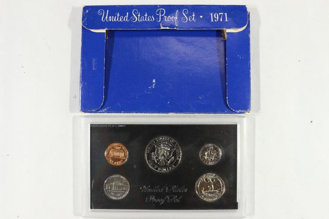 1971 US PROOF SET (WITH BOX) - 2