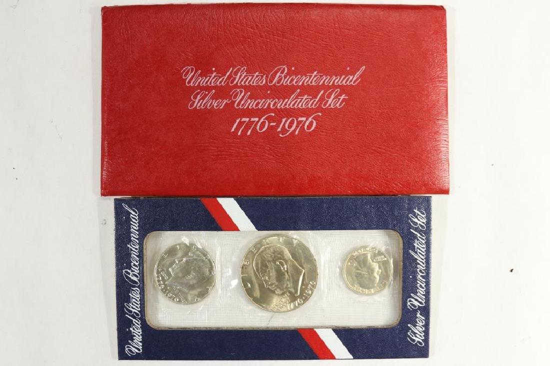 1976-S US SILVER BICENTENNIAL UNC SET