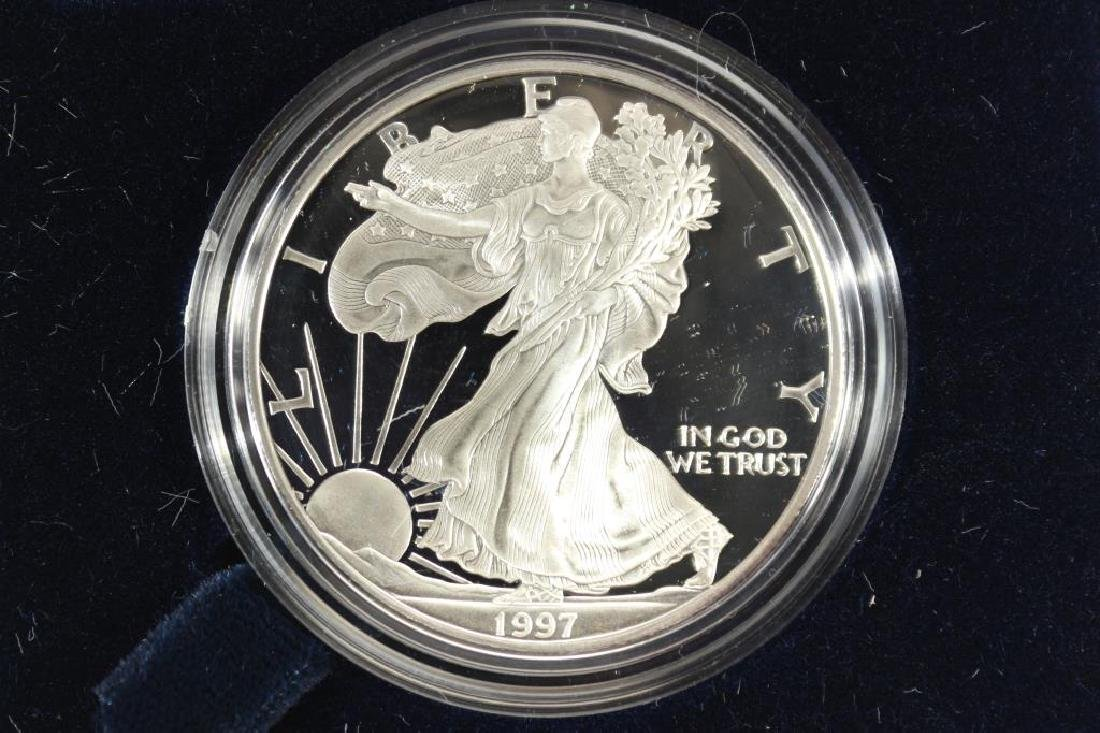 1997-P PROOF AMERICAN SILVER EAGLE