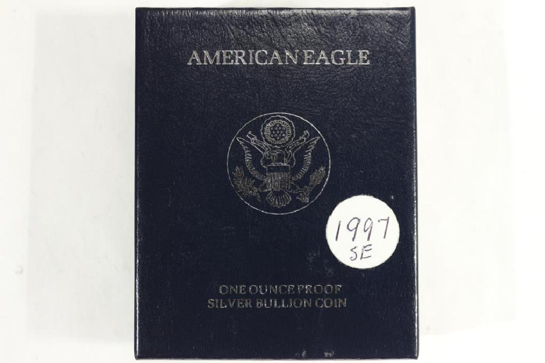 1997-P PROOF AMERICAN SILVER EAGLE - 3