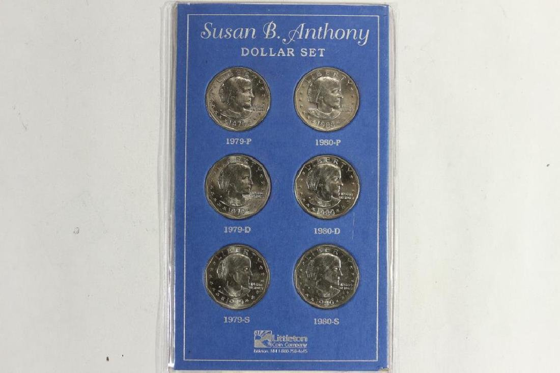 COMPLETE 2 YEAR UNC SET OF 1979-1980 P/D/S