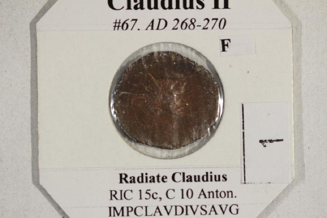 268-270 A.D. CLAUDIUS II ANCIENT COIN (FINE) - 3