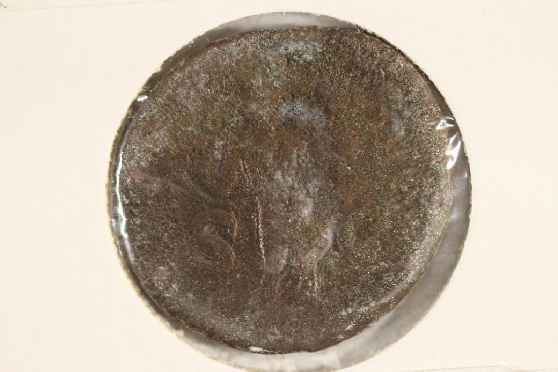 41-54 A.D. CLAUDIUS I ANCIENT COIN - 2