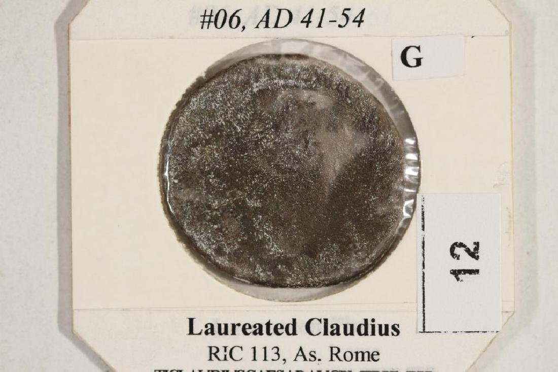 41-54 A.D. CLAUDIUS I ANCIENT COIN - 3