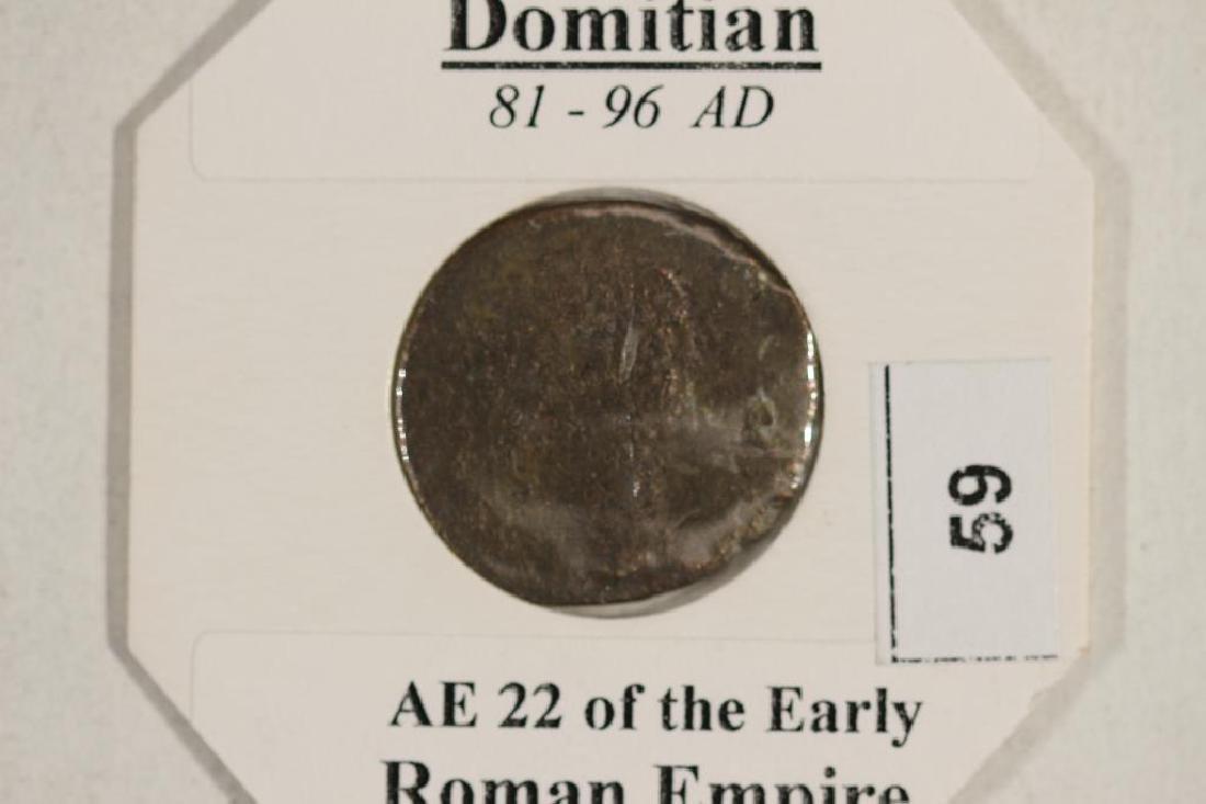 81-96 A.D. DOMITIAN ANCIENT COIN - 3