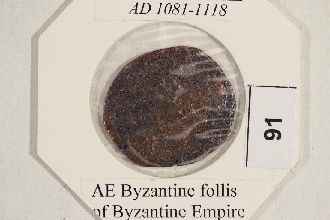 1081-1118 A.D. JESUS CHRIST ANCIENT COIN - 3