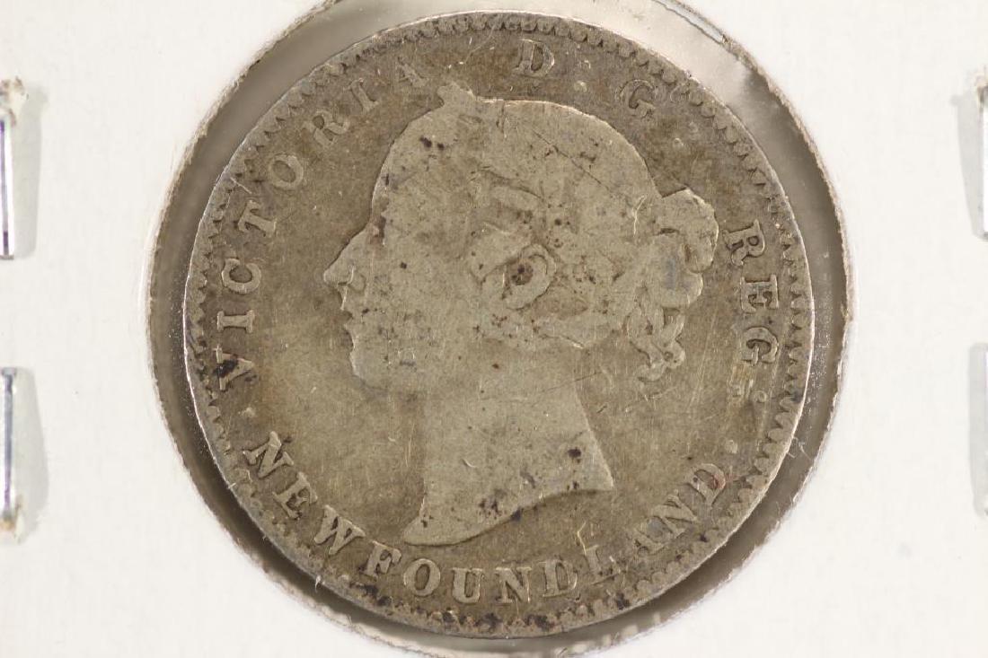 1896 NEWFOUNDLAND SILVER 10 CENT - 2